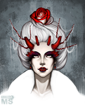 Osiria, The Rose Queen by MSonia