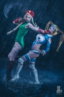 Cammy vs R. Mika by MeganCoffey