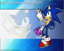 Sonic the hedgehog - birhtday by ancode