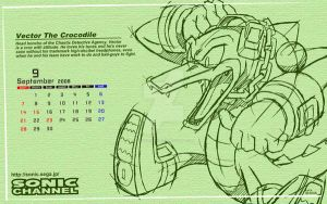 Vectore Crocodile wallpaper by Aniken-Style