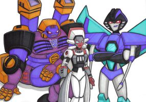 fembots by prisonsuit-rabbitman