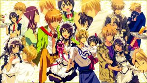 Kaichou Wa Maid Sama Wallpaper by Thomarie1923