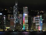 Hong Kong Light show by blacknight12