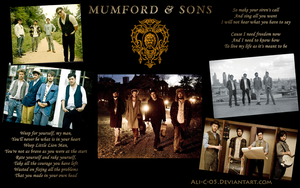 Mumford and Sons wallpaper by Ali-C-05