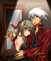 Request 05: Soul and Maka by haeunee2
