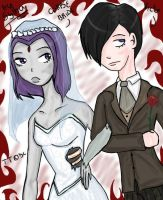 Goth with Raven like CorpBrid by Sylha
