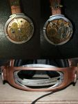 Steampunk Headphones - detail by Gallyfrey