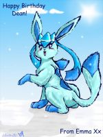 Glaceon For Dean 83 by moltres93