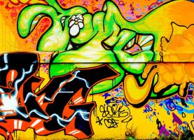 Graffiti 039 by ISOStock
