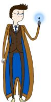 10th Doctor - AT style by Turtilla