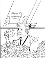 Star Trek: Kirk with Tribbles by RoyPrince
