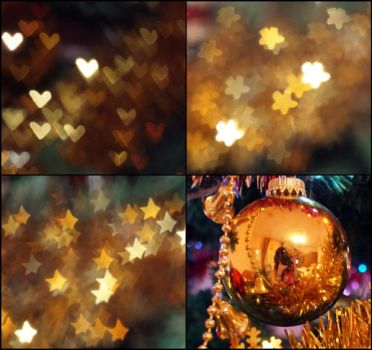 Golden Christmas by lora-tox