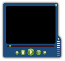 Web 2.0 Video Player Skin by frooweb