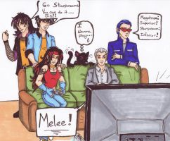 Melee: Human Decepticons by Katterina