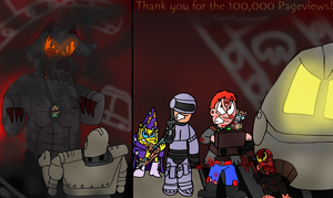 100,000 Pageviews Special - Battle Royale! by Duckyworth