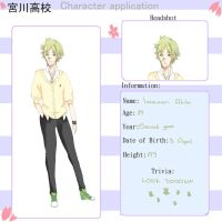 Miyagawa High app-Imawari Akito by LittleFreak56