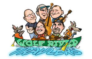 Wolf River Travelers caricatures by andrewchandler80
