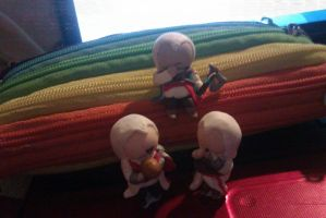 Fimo Assassins by nemo-kenway
