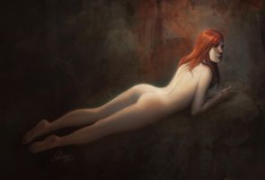nude painting by janaschi