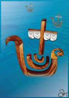 The Boat Logo by robinweatherall