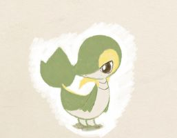 Snivy Paint by PokeHihi