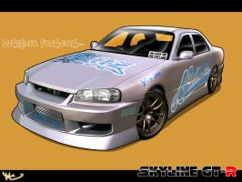 Skyline GT-R by apple-yigit-jack