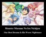 Monster Musume Demotivational Poster #1 by Ranmano1fan