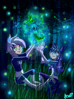 ectoplasm and SWENA energy by MidnightsBloom