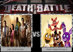 Death Battle - L4D2 vs FNAF by GunnurBoyExo