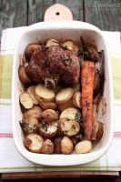 Roasted lamb with veggies by kupenska
