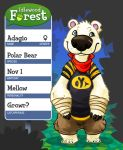 Idlewood Forest App: Ada the Bear by Tzadike