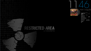 Restricted Area by Volmie