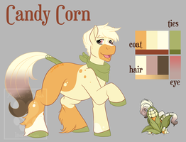 Fall Adopt Set 1: Candy Corn by RottingRoot