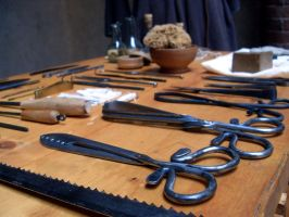 Surgeon Tools by SpeculumHistoriae