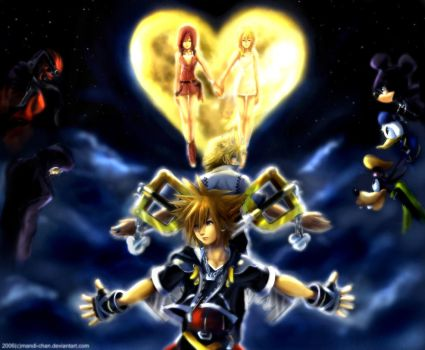 ::Kingdom Hearts II-Complete:: by mandi-chan