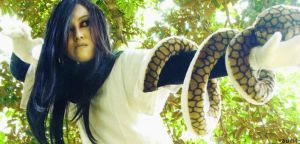 orochimaru cosplay by aurilianalence