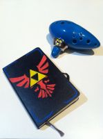 Triforce journal design by Iozia