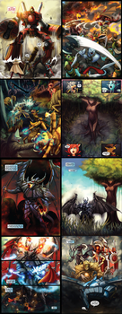 The Black Paw 8 Page Preview by GleamingScythe