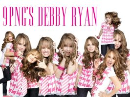 9 PNG Debby Ryan by YuliBieber
