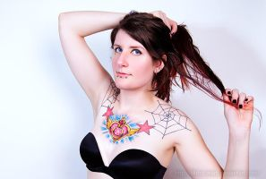Sailor Moon Tattoo by LilithScream