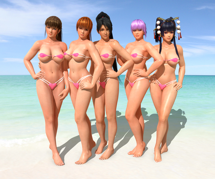 DOA5LR -Electra- Pack1 by Irokichigai01