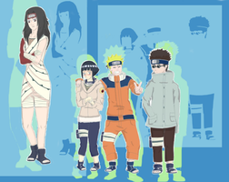 Naruto on team 8 by Cacah05