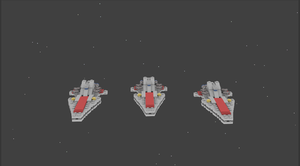 LEGO Venator Cruisers by fofo128