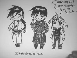 LING, ROY AND ED by ii-ris-chan