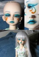 BJD Face Up - Doll Leaves R 02 by Izabeth