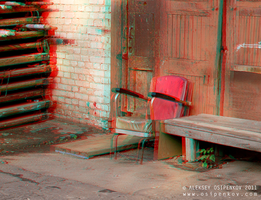 old man will not come ...  Anaglyph by Osipenkov