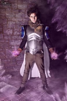 The Ice Wizard's Father - Silver Fullbuster by AGlimpseOfMe