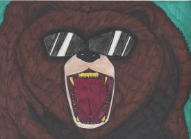The Grizzly Chief by DelphiniumFleur