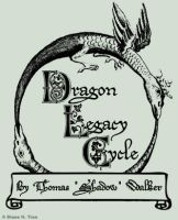 Comm: Dragon Legacy Cycle Logo by tranimation-art