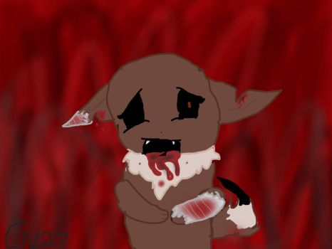 Gore Warning!! by Cottonee27